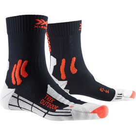X-Socks Trek Outdoor Chaussettes Homme, midnight blue/kurkuma orange